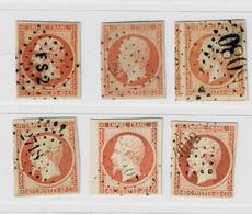 A6b- N°16 Oblit. Ancre Bleue Pc 4012 GC 5080 Sans Défaut - 1853-1860 Napoleon III