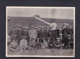 Photo Originale Aviateurs Escadrille F25 Du GB I /21 Groupe Bombardement Avion Bloch MB 210 N°31 - Aviazione