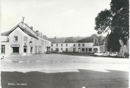 BIOUL : La Place - A.Smetz Namur - RARE CPM - Cachet De La Poste 1976 - Anhée