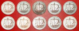 · SHIP: CYPRUS ★ 5 MILS COMPLETE SET 10 COINS 1963-1980! LOW START ★ NO RESERVE! - Mezclas - Monedas