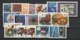 1974 FINLANDE ANNEE COMPLETE ** (MNH) N° 707 à 723. Cote (value) 34.75 €. FINLAND FULL YEAR. VG/TB - Ganze Jahrgänge