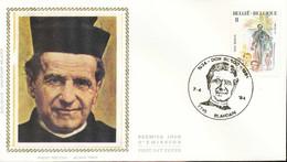 "[66153]TB//-N° 2129 - FDC - Jean Bosco - ""BLANDAIN"" , école, Religion, Soie, SNC - 1981-90"