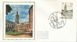 "[66212]TB//-N° 2146 - FDC - Abbaye D'Averbode - Obl ""AVERBODE"", Soie, SNC - 1981-90"