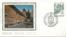"[66233]TB//-N° 2148 - FDC - Abbaye De Rochefort - Obl ""ROCHEFORT"", Soie, SNC - 1981-90"