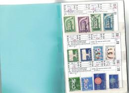 Carnet EUROPA - . 9 Scans - Sammlungen (im Alben)