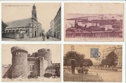 Brest, Lot 8 Cartes Postales Anciennes - Brest
