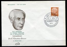 F0523 - BUNDESREPUBLIK - Mi.No. 178 FDC - [7] Repubblica Federale
