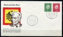 F0524 - BUNDESREPUBLIK - Mi.No. 303/304 FDC - [7] Repubblica Federale