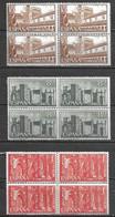 España 1959. Edifil 1250-52 X 4 ** MNH. - 1931-Heute: 2. Rep. - ... Juan Carlos I