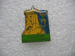 Pin's Club D'Athlétisme De La Ville De LYGNY En BARROIS (Dépt 55) - Leichtathletik