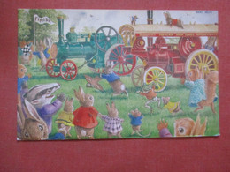 The Traction Engine Race  By Racey Helps  Ref  4396 - Animaux & Faune
