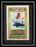 Bhutan (Bhoutan) - 3196/ Yvert N° 441 Upu Avion (plane) Concorde Non Dentelé Imperf ** MNH ** MNH - Bhutan