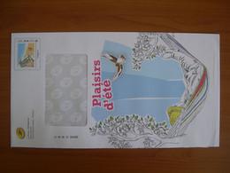 Enveloppe La Poste  162x300 Montimbramoi Monde 250g Plaisir D'été - PAP:  Varia (1995-...)