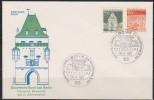 BRD FDC 1966 Nr.496 - 497 Deutsche Bauwerke ( D 2561 ) Günstige Versandkosten - [7] Repubblica Federale