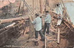 TROUVILLE SUR MER - Réparation De Filets - Trouville