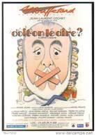 """Carte Postale """"Cart'Com"""" (2002) Doit-on Le Dire ? (Eugène Labiche - J.L. Cochet) Théâtre Mouffetard (ill. Léo Kouper) - Kouper"""
