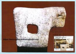 PORTUGAL - CENTENNARY MUSEUMS ABADE BAÇAL BRAGANÇA  HISTORY MAXIMUM CARD - Maximumkaarten