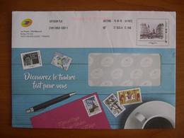 Enveloppe La Poste  162x230 Montimbramoi Monde 250g Paris - PAP:  Varia (1995-...)