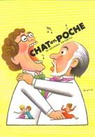 """Carte Postale """"Cart'Com"""" (2000) - Théâtre Mouffetard - Chat En Poche - J.L. Cochet (illustration Léo Kouper) - Kouper"""