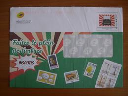Enveloppe La Poste  162x230 Montimbramoi International 250g Machine à écrire - PAP:  Varia (1995-...)