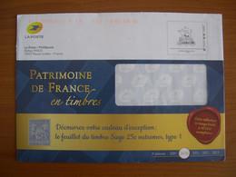 Enveloppe La Poste  162x230 Montimbramoi International 250g Patrimoine - PAP:  Varia (1995-...)