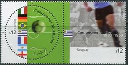 Uruguay 2002. Michel #2659/60 MNH/Luxe. Sport. Football World Champion In The 20th Century. (Ts22) - Uruguay