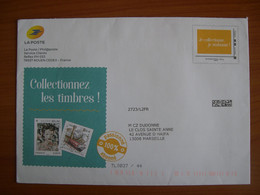 Enveloppe La Poste  162x230 Montimbramoi International 250g Je Collectionne - PAP:  Varia (1995-...)