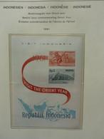 Indonesië/Republik Indonesia 1950-1979 In Schaubek Album With Better M/Sheets/Blocks - Sammlungen (im Alben)