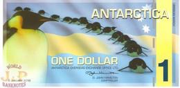 ANTARCTICA 1 DOLLAR 2010 PICK NL POLYMER UNC - Billetes