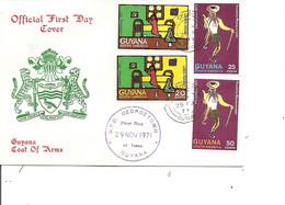 Guyane ( FDC De 1971 à Voir) - Guyana (1966-...)