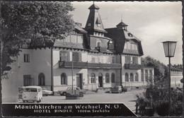 Mönichkirchen Am Wechsel, Hotel Bender, Gelaufen 1969 - Sonstige