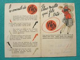 Petit Calendrier 1950 - VITOS - Nini Aicardi Menton - Kalender