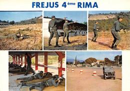 FREJUS - 4ème R.I.M.A. - L'école De Conduite Et Le Champ De Tir De La Peyrière - Jeep - Frejus