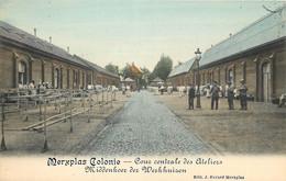 Belgique - Merxplas Colonie - Cour Centrale Des Ateliers - Middenhoer Der Werkhuizen - Merksplas
