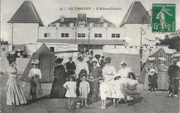 CARTE POSTALE LE CROTOY - L'EDEN-CASINO - Le Crotoy