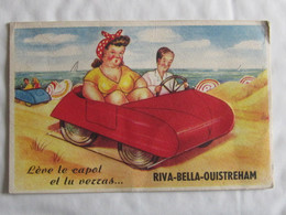 14 RIVA-BELLA- OUISTREHAM Lève Le Capot CARTE SYSTEME - Riva Bella