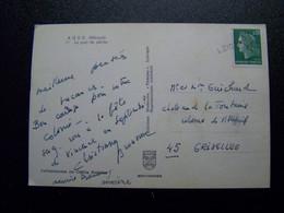 France - Oblitération De Fortune - Annulation Linéaire De LOIRET  (45) - Sur Marianne De Cheferre - Sur CPSM - Unclassified