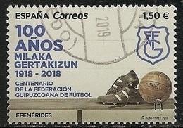 2019-ED. 5300 - COMPLETA -Centenario Federación Guipuzcoana De Fútbol - USADO - 2011-... Used