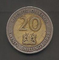 Kenia - Moneta Circolata Da 20 Scellini Km32- 1998 - Kenya