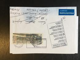 Strasbourg Conseil De L'Europe Foire Européenne 2003 Lisa - 1999-2009 Illustrated Franking Labels