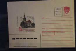 Eesti; UdSSR Ganzsache Tallinn Mit Stempelzudruck 60 Kop., Ungebraucht - Estonie