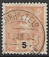 PORTUGAL    -    1895  .  Y&T N° 125 Oblitéré. - 1892-1898 : D.Carlos I