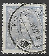 PORTUGAL    -    1895  .  Y&T N° 132 Oblitéré. - 1892-1898 : D.Carlos I