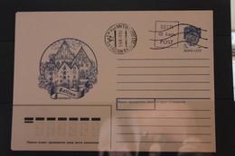 Eesti 1991, Ganzsache Mit Stempelzudruck 10 Kop.; Ersttagsstempel - Estonie