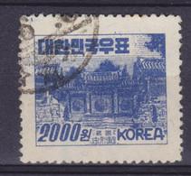 South Korea 1952 Mi. 153  2000 W Tongyung-Tempel - Corée Du Sud