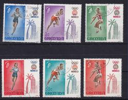 Grenada: 1968   Olympic Games, Mexico    Used - Grenada (...-1974)