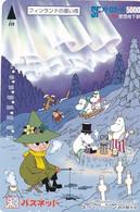 JAPAN - Cartoon, Moomin Characters, SF Prepaid Card Y5000, Used - Comics