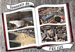 Souvenir De ... FREJUS - Le Barrage De Malpasset - Le Lido - La Plage - Livre Ouvert - Frejus