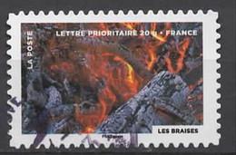FRANCE 2012 Oblitéré - LE FEU  Cachet Rond - KlebeBriefmarken