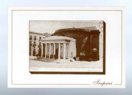 TRAPANI  :  Teatro  GARIBALDI  -  Cartolina Non Viaggiata  Anni 90 - Trapani